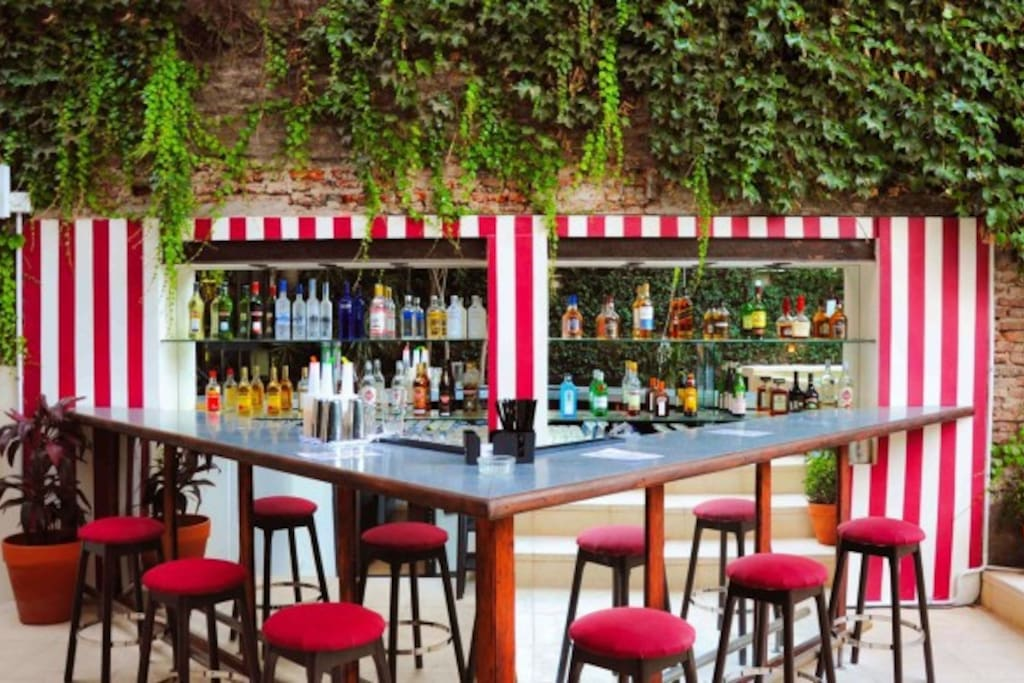 Bars in Palermo Soho, 5 minutes walk distance