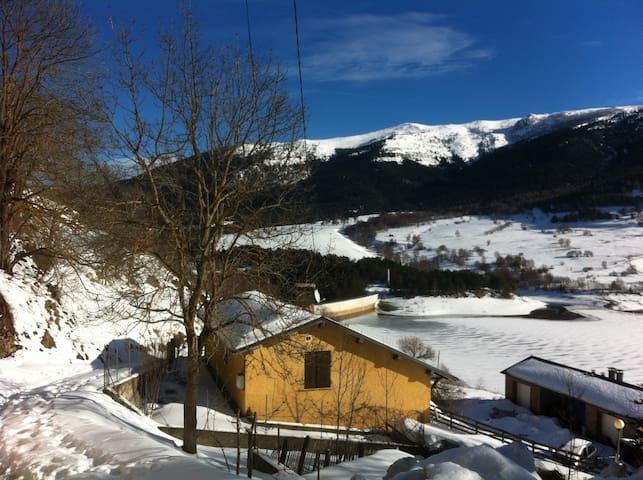 Montaña y familia (10-12 pers) - Puyvalador - Casa
