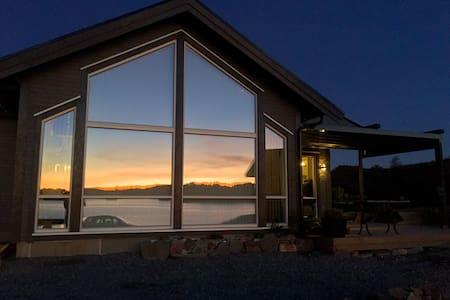 Ny hytte med fantastisk beliggenhet i Austefjorden - Sund - Sommerhus/hytte
