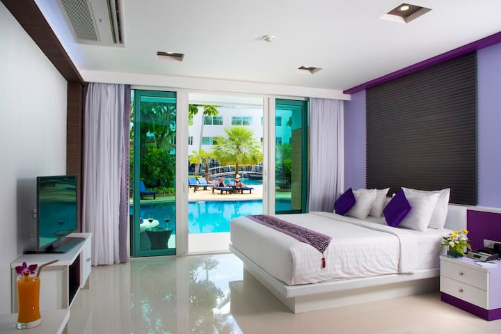 Bright modern style room in Krabi - Ao Nang - Apartment