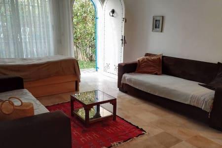 coquet bungalow en plein coeur de hammamet - Nabeul - Cabana