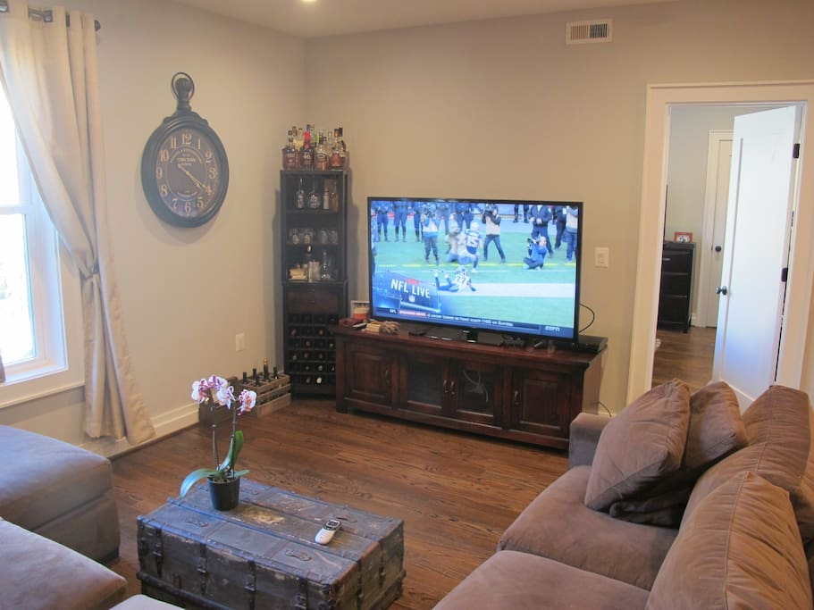 65 inch TV, direct TV with NFL Package
