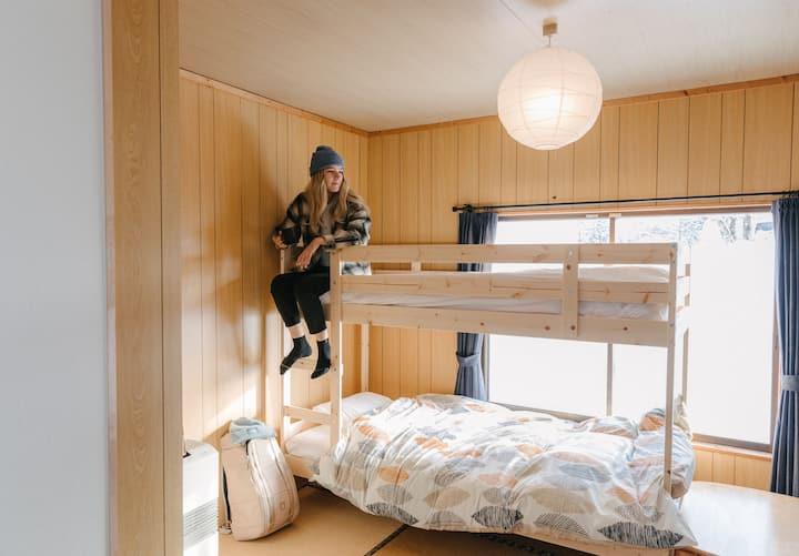 【ドミトリールーム】妙高高原のゲストハウス  - Myoko House