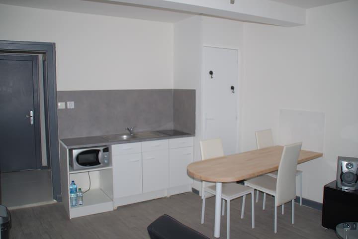 Appartement bien équipé - Guingamp - Flat