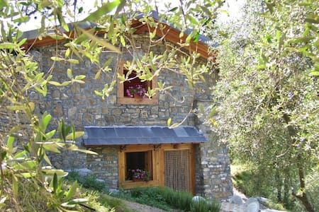 Cute cottage in the olive grove - Imperia