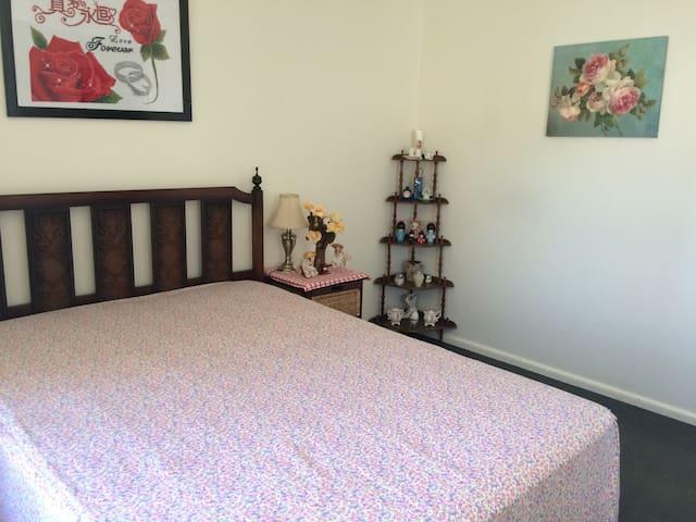 舒适温馨的二居室, 独立卫浴,提供自行车,出行便利,周围环境优美安静。 - Melbourne - Wohnung