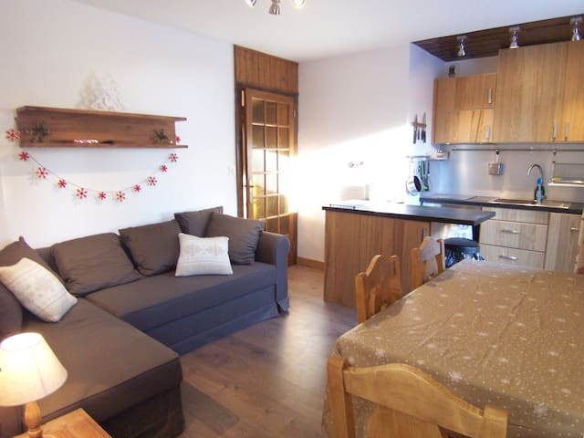 Very nice apartment in the center 100m from the slopes Morzine