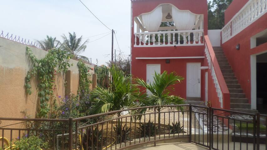 La belle villa rouge La Somone - Somone - Apartemen