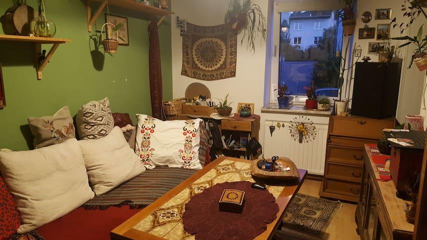 Gemütlichbunte Wohnung