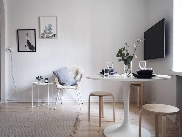 Bright and sympathetic apartment in elegant region