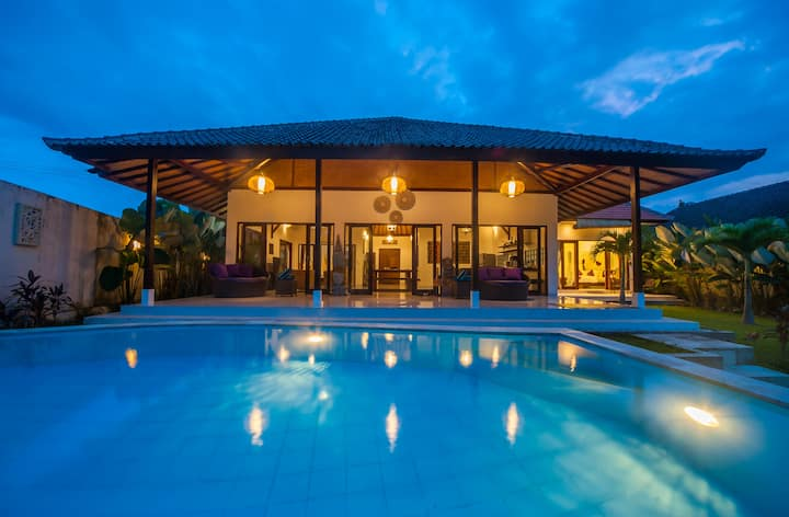"""75% OFF""  Axros Villa w/ stunning jungle view"