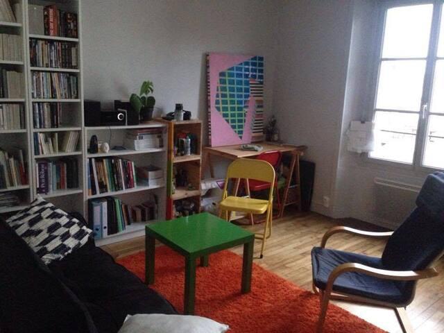 T2 lumineux, quartier calme proche centre - Rennes - Apartamento