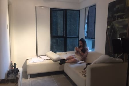 Cosy central apartment, with pool and gym. - Hongkong - Wohnung