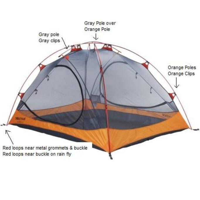 3p Marmot Ajax Tent