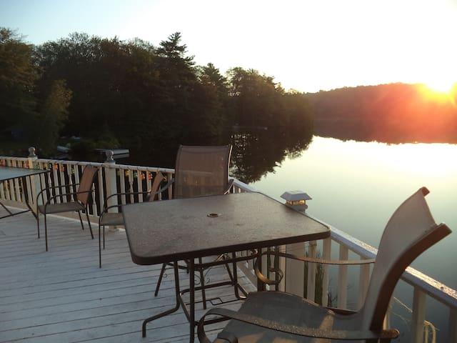 Springtime over the Lake, Full Breakfast
