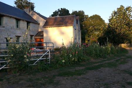 农场自然景色房 - Saint-Martin-de-la-Place - Таунхаус