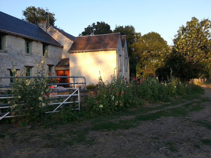 Gîte à la campagne 农场自然景色房