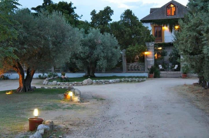 Finca increíble a 50 minutos de Madrid y Toledo - Santa Cruz del Retamar - Villa