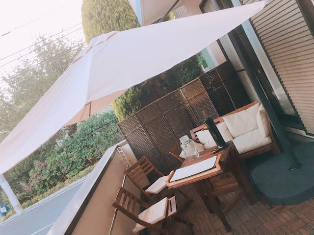 Nice terrace house! 한국분환영!