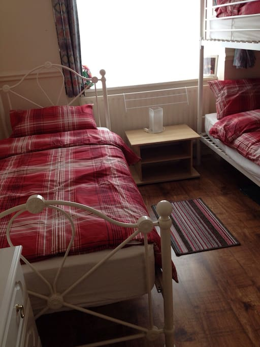 Large single bed