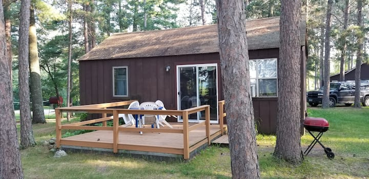 Cozy 1BR  Cabin-Great View near Itasca State Park