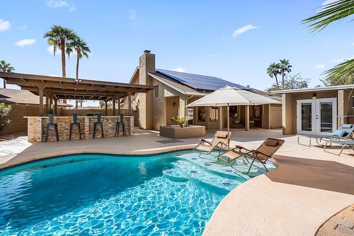 Fine, Flavorful home with Fun backyard