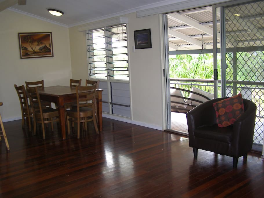 Dining Room onto Verandah
