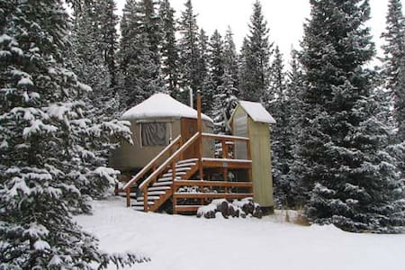 The Lime Creek Yurt - Creede