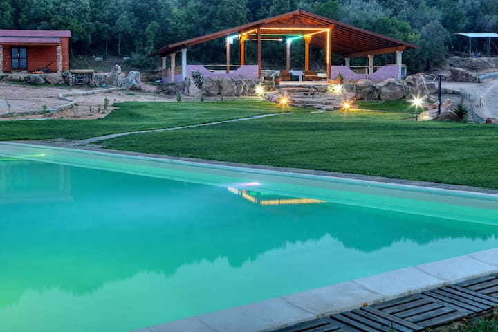 Green Park Country Lodge nature relax sports - San Pantaleo - Departamento