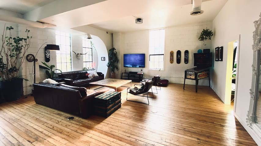 Awesome east side hard loft