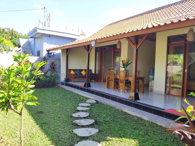 Lengkong House, 2 Bed's with Rice view and Quiet