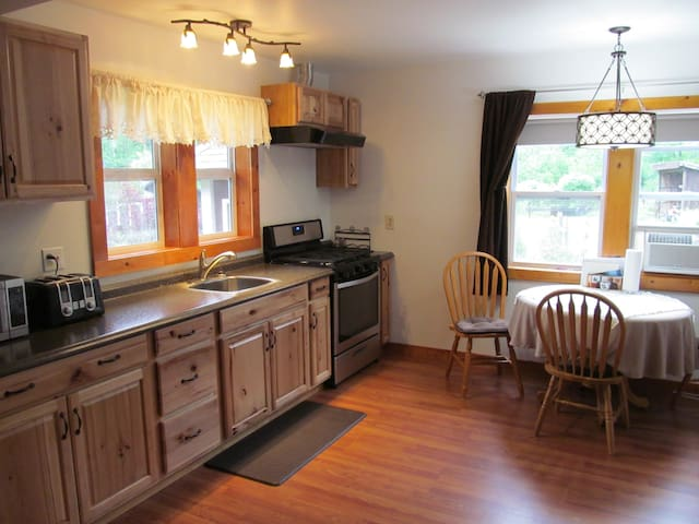 Guest House Kitchen includes a continental breakfast