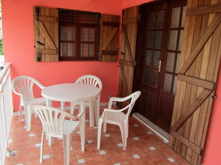 Appartement spacieux à Baie Mahault