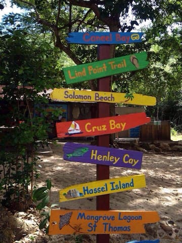 Some of the great spots on the Island   to see