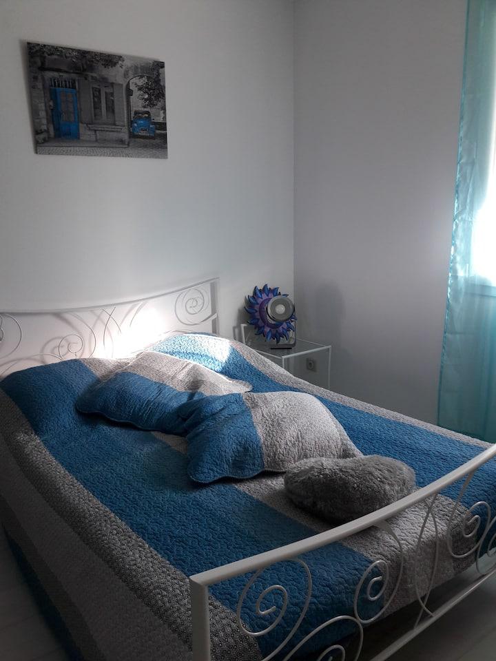 Chambre individuelle avec très belle vue