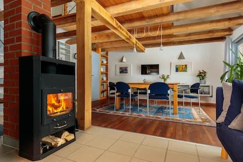 Modernes Landhaus mit Sauna
