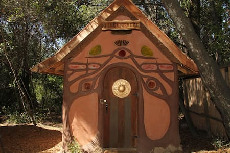 A Fairy-tale Gingerbread House - Geyserville