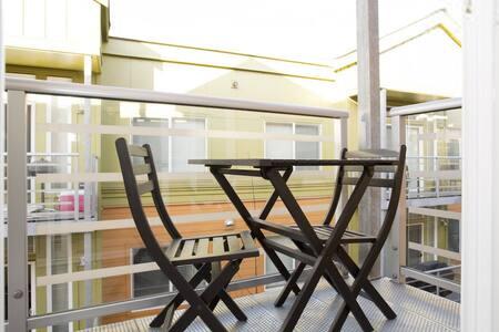 Top floor upscale 2BD/2BA condo A