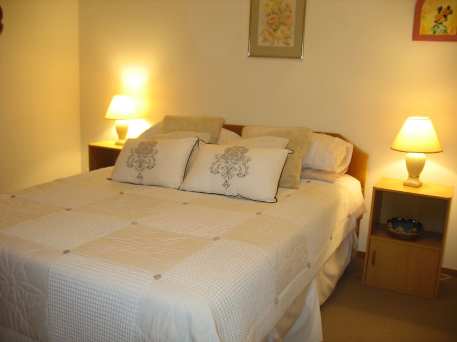 Onsuite bathrooms in all rooms + Comfortable double beds