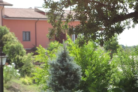 La casa fiorita. Mansarda in villa. - Bracciano - Bed & Breakfast