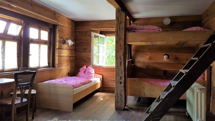 Ferienwohnung Gottsbüren (Trendelburg-Gottsbüren) -, 3 Dreibettzimmer mit Gemeinschaftsbad