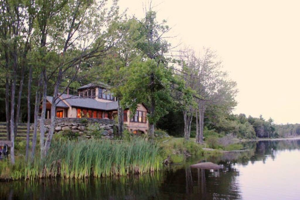 Boathouse home w lake view