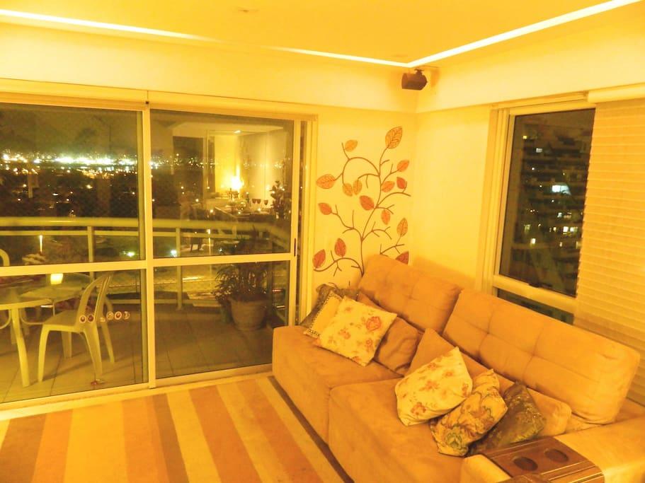 sala de estar / home theater