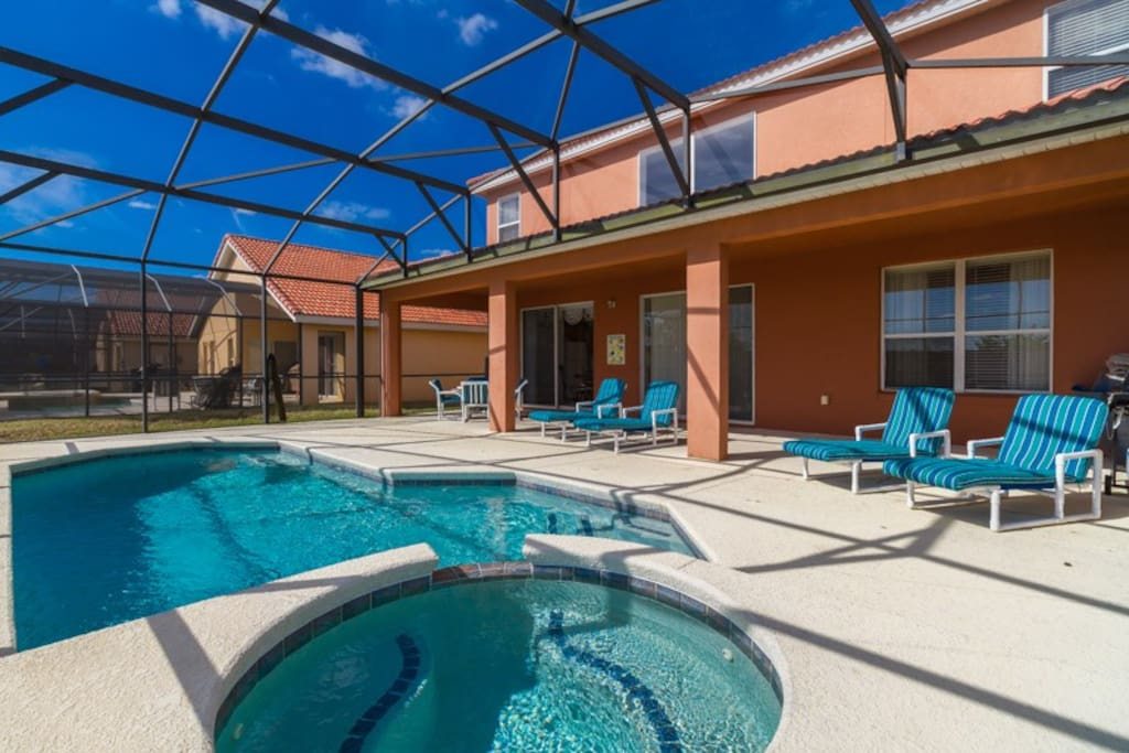 6br 4master 5 5bath Pool Lanai Game Houses For Rent In