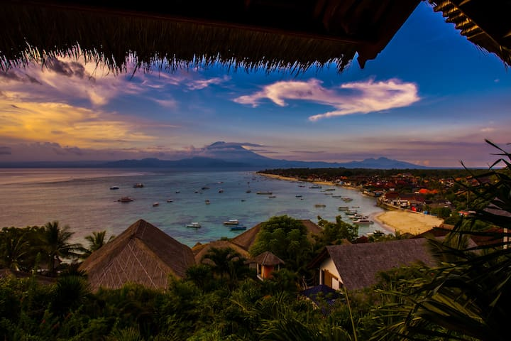 W - OCEANFRONT BEST VIEWS Lembongan - Lembongan island - House