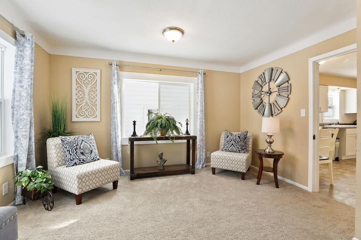 Elegant East Side Experience (Main Floor Bedroom)