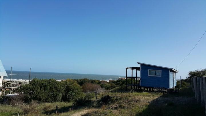 Casa Dady Blues, frente al mar, Punta del Diablo