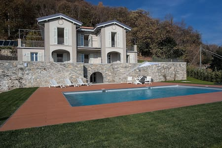 Exclusive villa with stunning lake view - Verbania