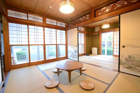 """Pets are welcome! Omi Maiko's """"Lake Biwa Thank You House"""" is also the perfect place to stay for a vacation."""