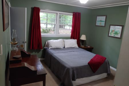 Roomy, private suite with separate entrance.